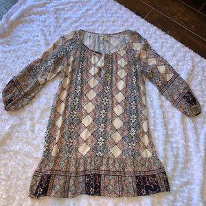 Forever 21 basic printed dress